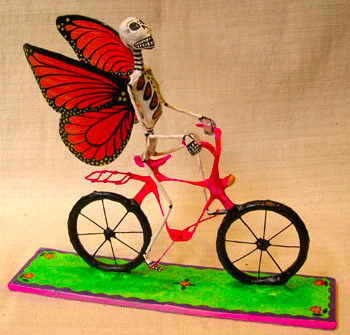 Paper-Mache-Skeleton-Butterfly-Bicycle-Eyes-Gallery-Philadelphia-Day-of-the-Dead-Folk-Art1
