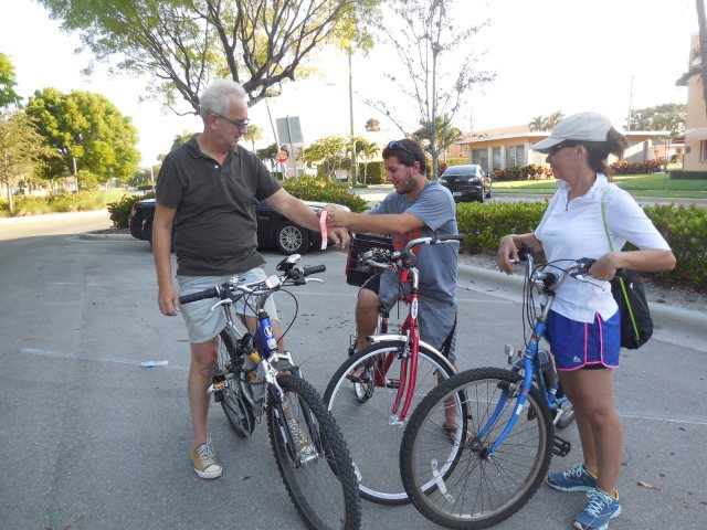 participants had bands to identify them for discount  at South Shores