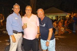 The three amigos Jon Faust, Roger Hendrix, Bobby Pitcock