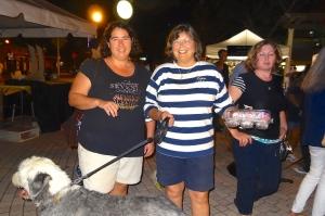 Tammy Pansa  and Nancy Jarrell with Shamus