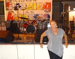 Dottie Pearson, Special Events co ordinator for Lake Worth Beach.