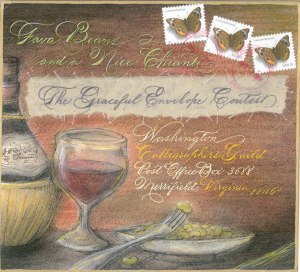 by current Pres. of South Florida Calligraphy Guild