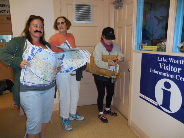 maps maps maps being delivered at our newest Information Center