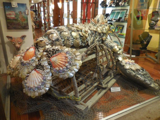 The lobster that took Lake Worth in the Artisan Gallery