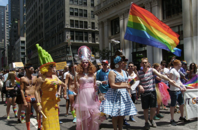 Gay Parade in New York