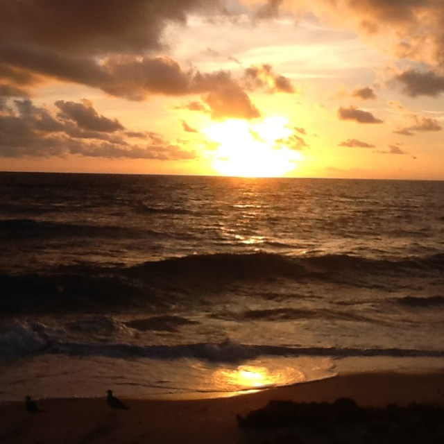 Sunrise Lake Worth Beach