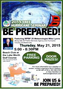 2015 May 21 - Hurricane Seminar at Lake Worth Golf Course - Edit 2