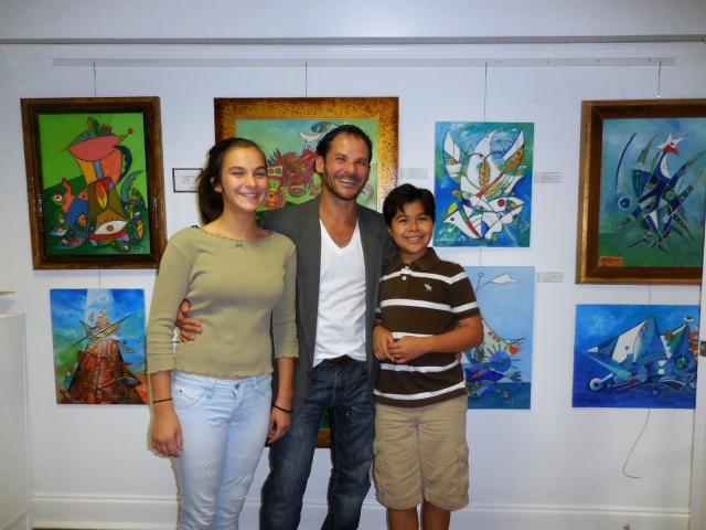 Lake Worth Art League visitors