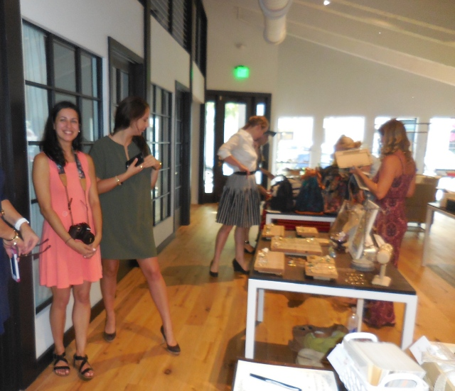 Social House interior The Maker trunk show is done once every two months.