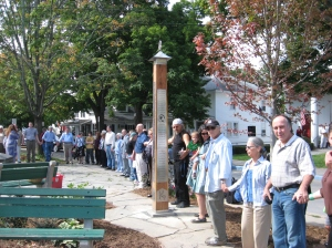 photo from Woodstock dedication