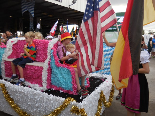 children's parade entry