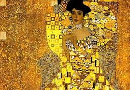 """Ella"" The woman in gold Gustav Klimt"