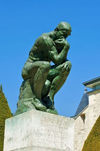 le penseur the thinker August Rodin