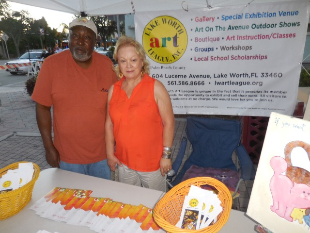 Lake Worth Art League will be joining the 1st Friday EOA