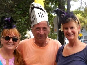 knight in shining head gear and Birthday Girl