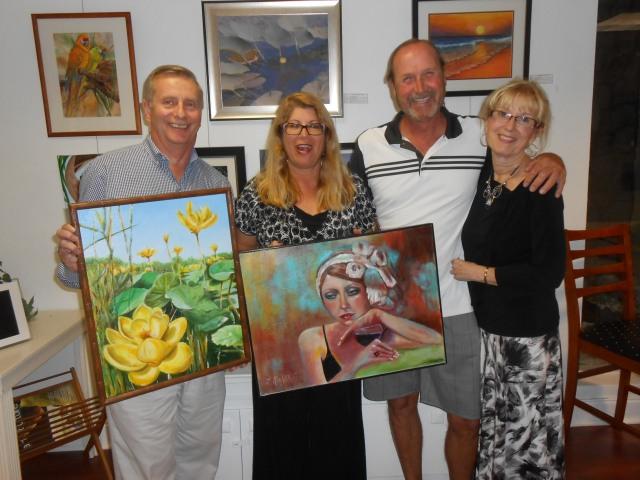 Tom D., Randi F., Mary Mc., and Larry