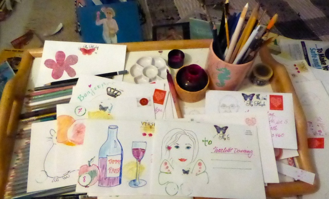 """Mail-Art for Nat'l Letter Writing Month"""""""