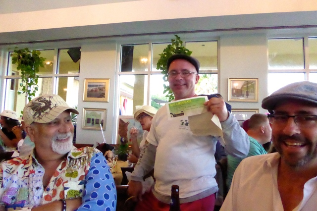 Greg loved his certificate from Smarty Plants