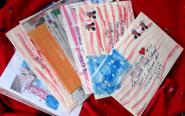This is Mail Art found on Google look closely it is a project i did many years ago at election time.