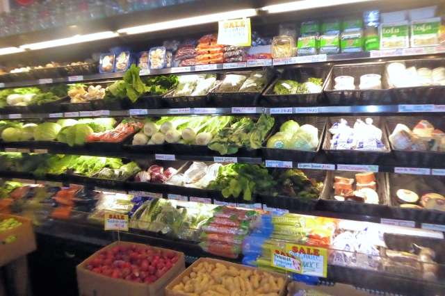 organic section